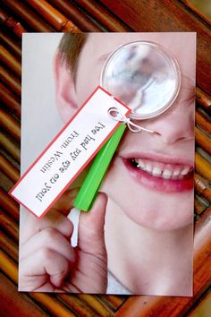 Valentine's Day Cards. Use your child's personal pic to attach the magnifying glass to.