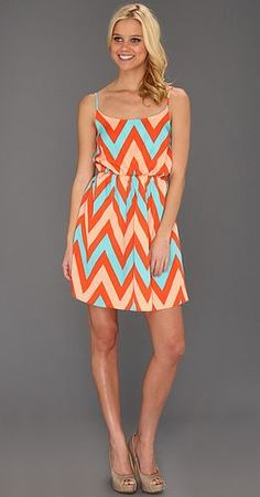 Chevron dress - so cute :)