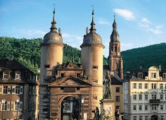 Heidelberg Turret Gate, Germany