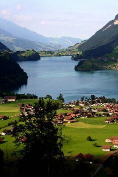 Lungerersee, Obwalden, Switzerland