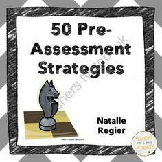FREE Book One: 50 Pre-Assessment Strategies from Teaching With a Touch of Honey on TeachersNotebook.com -  (20 pages)  - Strategies for the pre-assessment of student knowledge!