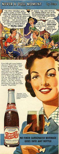 Vintage Pepsi Cola Ad