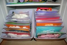 Pink and Green Mama: * Getting Organized: Doll Clothes