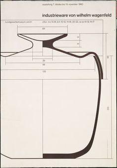 Fridolin Müller. Industrieware von Wilhelm Wagenfeld. 1960