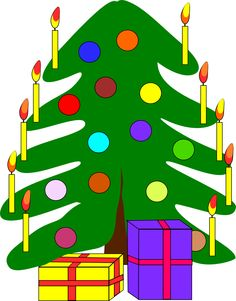 Christmas tree #free #clipart