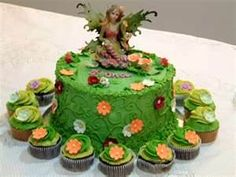 fairy garden cake - Bing Images