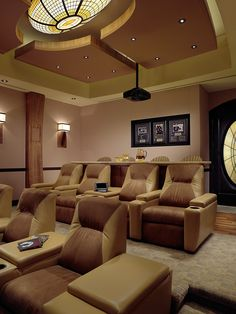 High end home theater interiors on pinterest home for High end interior design