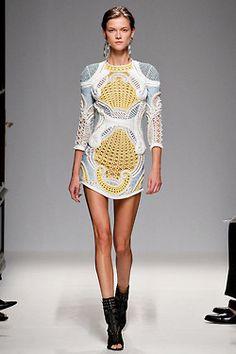 Balmain 2013 Spring Runway… #jacket #balmain #womensfashion #style #fashion #look #blazer #details #luxury #luxe #highend #trend #dress #details