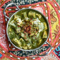 Palak Tofu 'Paneer' - Tofu in Spinach curry. Vegan Glutenfree Recipe | Vegan Richa