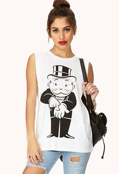 Get $ Muscle Tee | FOREVER21 - 2000066516