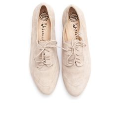 Nude oxfords / Jeffrey Campbell - Miller