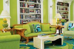 Esquema de color verde lima Análogo