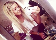 so doing my hair like this (:
