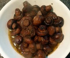 Best Appetizer Recipe!  Crockpot mushrooms - these are unreal.  6 packages baby bella mushrooms  1 packet dry hidden valley ranch   2 sticks butter  cook on low.  I cook these all the time and they are always gobbled up!