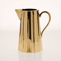 gold pitcher