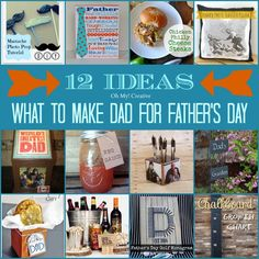 What to make dad for Father's Day - OhMy-Creative.com