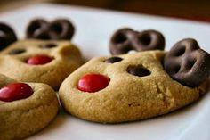 Festive Reindeer cookies