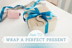 how to wrap a perfect present