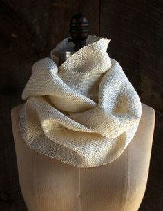 Whit's Knits: Woven PearlCowl - The Purl Bee - Knitting Crochet Sewing Embroidery Crafts Patterns and Ideas!