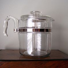 my pyrex coffee pot is a must