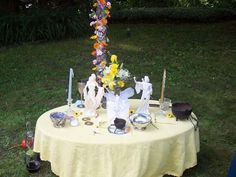 summer solstice altar