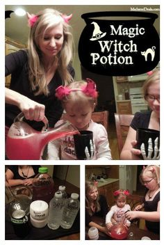 Halloween Recipe: Magic Witch Potion This is easy and fun and so tasty a can't miss treat