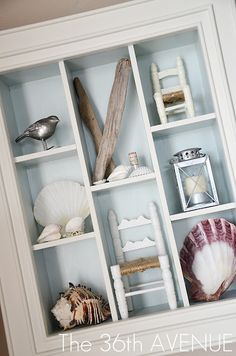 SHADOW BOX Dining Room Reveal and Design Tips | The 36th AVENUE - also love the display here