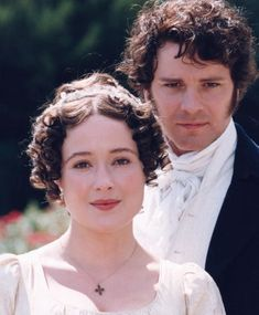 Pride & Prejudice. Colin Firth and Jennifer Ehle 1995
