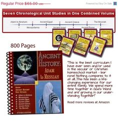 SAVE 40% This Week!  Ancient History Adam to Messiah Ebook 800 pages