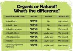 Organic vs. Natural Beauty Products