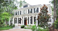 May River Custom Home - Colonial Revival style