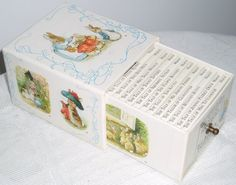 Had this Peter Rabbit collection of books when i was little.
