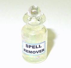 Spell Remover Witch Brew Halloween Magic Potion Bottle