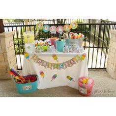 Popsicle-Party Perfect for SUMMER!