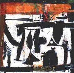 wosene kosrof paintings   Exibition - WOSENE WORKE KOSROF: Recent Paintings. Words: From Spoken ...