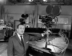 Walt Disney at the studio, late 50's, I.V.