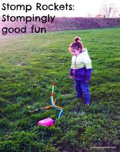 Taming the Goblin: Stomp rockets
