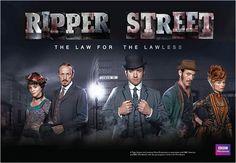 BBC Ripper Street with Matthew MacFayden