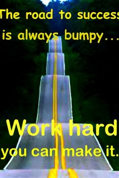 So true - Road to success - Young Drivers can help get you there https:://www.yd.com