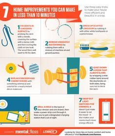 7 Home Improvements You Can Make in Less Than 10 Minutes | Mental Floss