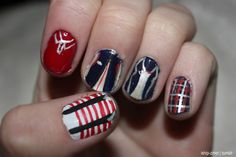 More One Direction nails!!!(: