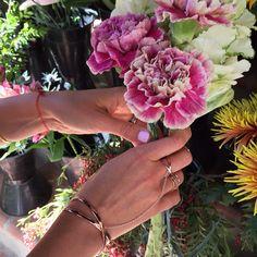 Gorjana takes over #Shopbop's Instagram #flowers #jewelry