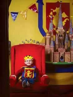 King of the castle! (yes, that's a cake!)