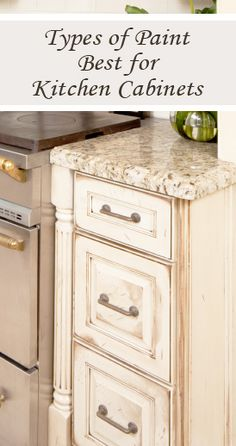 Types of paint best for kitchen cabinets