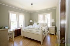 Nicole Curtis Rehab Addict - Minnehaha House guest bedroom