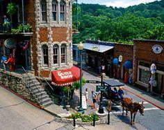 Eureka Springs, Arkansas- the Ozarks and Flat Irons!
