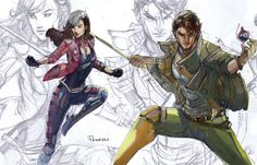 Rogue and Gambit cro
