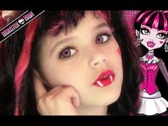 For activities at a Monster High Birthday party - thinking of a makeup station - maybe even set up a gothic vanity where the girls can paint their faces.  Such a cute video where a little girl does her own Monster High make - up!  Might have this set up so the kids can choose which one they want to look like.