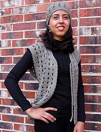 crochet vest patterns women | Crochet Vest Pattern | Free Easy Crochet Patterns Crochet Vest Pattern ...