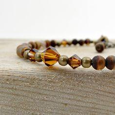 Earthy Feminine Bracelet Boho Layering by ReneeBrownsDesigns
